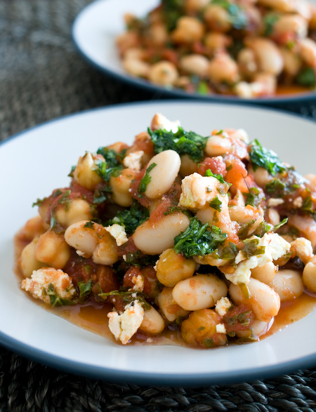 Giant Chipotle White Beans Recipe — Dishmaps