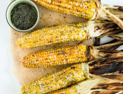 Grilled Corn with Miso and Gochujang | Minimally Invasive
