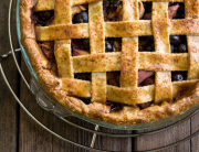 Blueberry and Nectarine Pie | Minimally Invasive