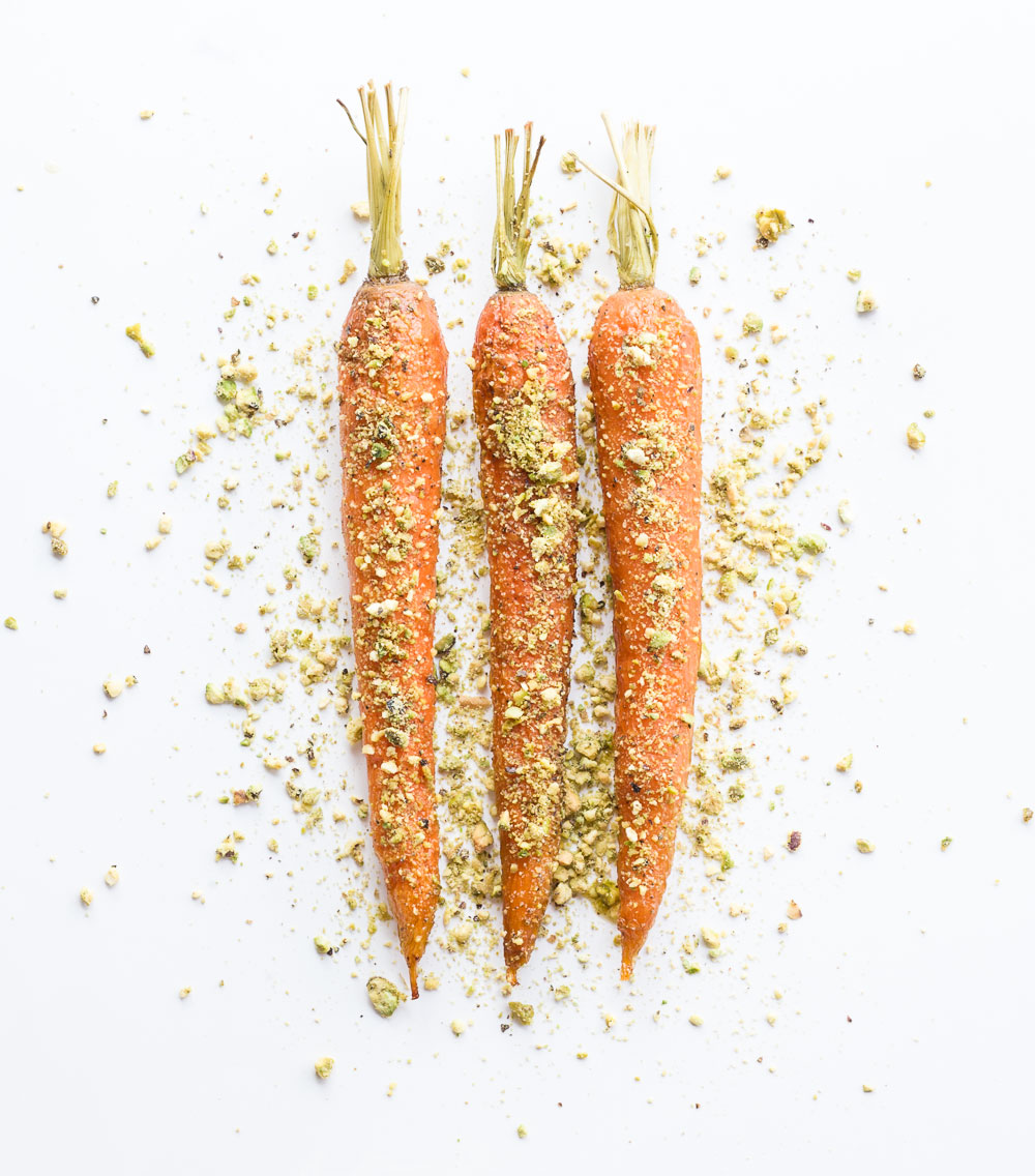 Pistachio Carrots | Minimally Invasive