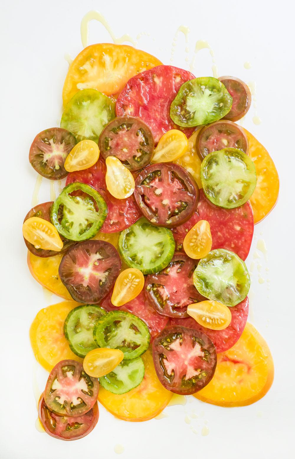 Sliced Tomatoes | Minimally Invasive