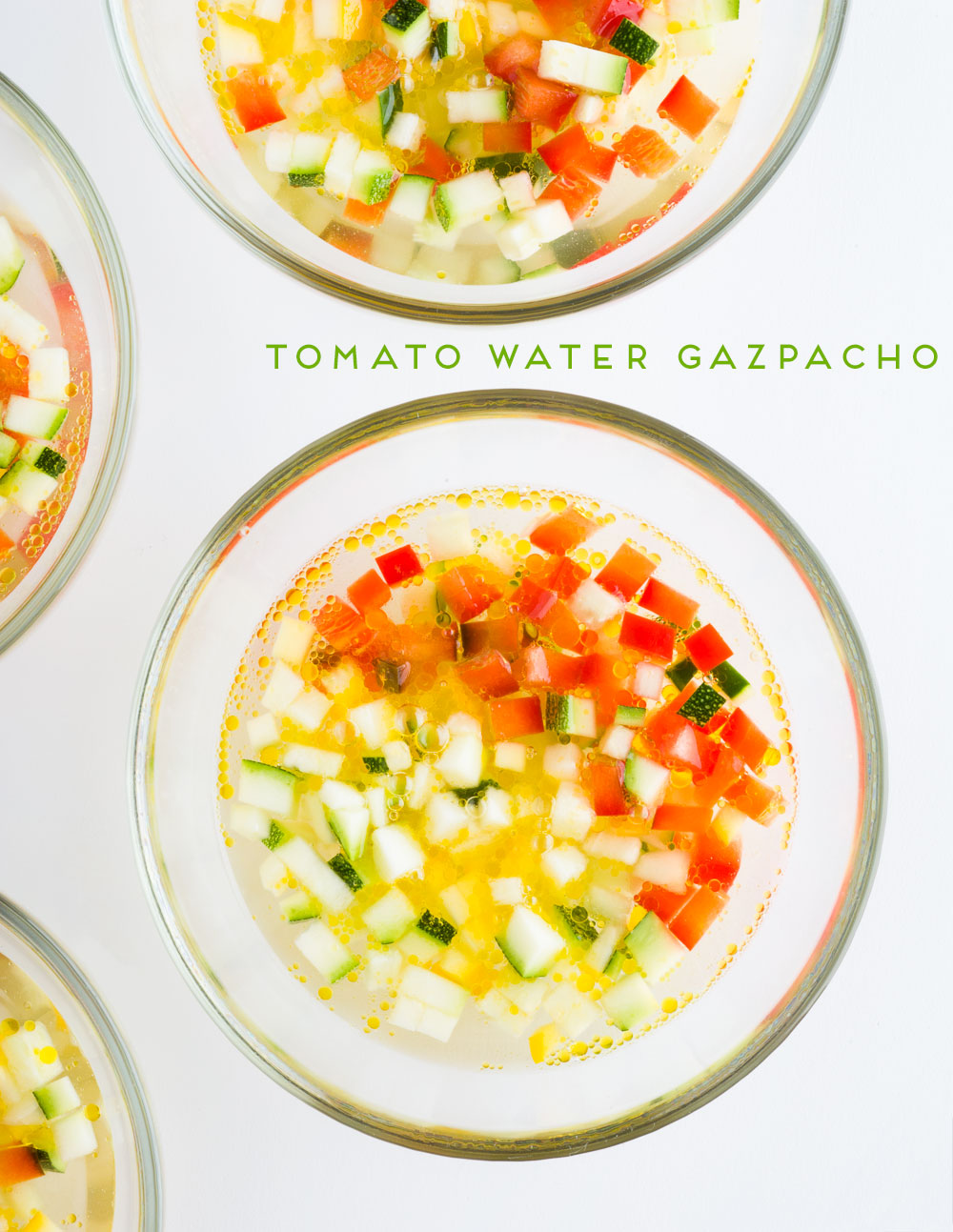 Tomato Water Gazpacho | Minimally Invasive