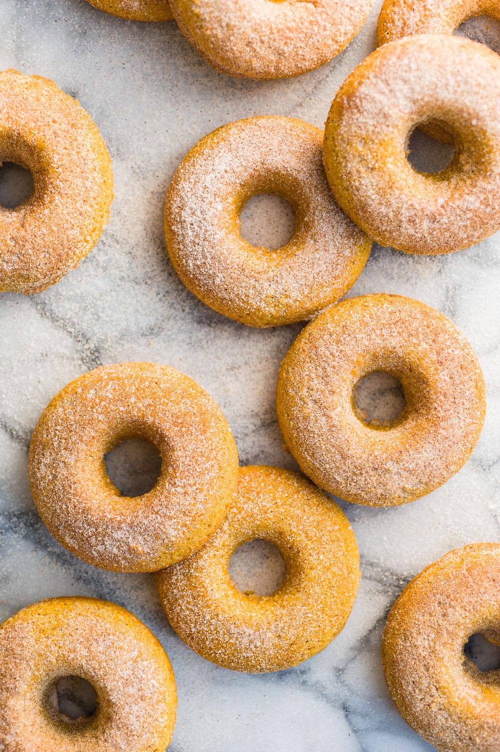 Gluten-Free Pumpkin Doughnuts | Minimally Invasive