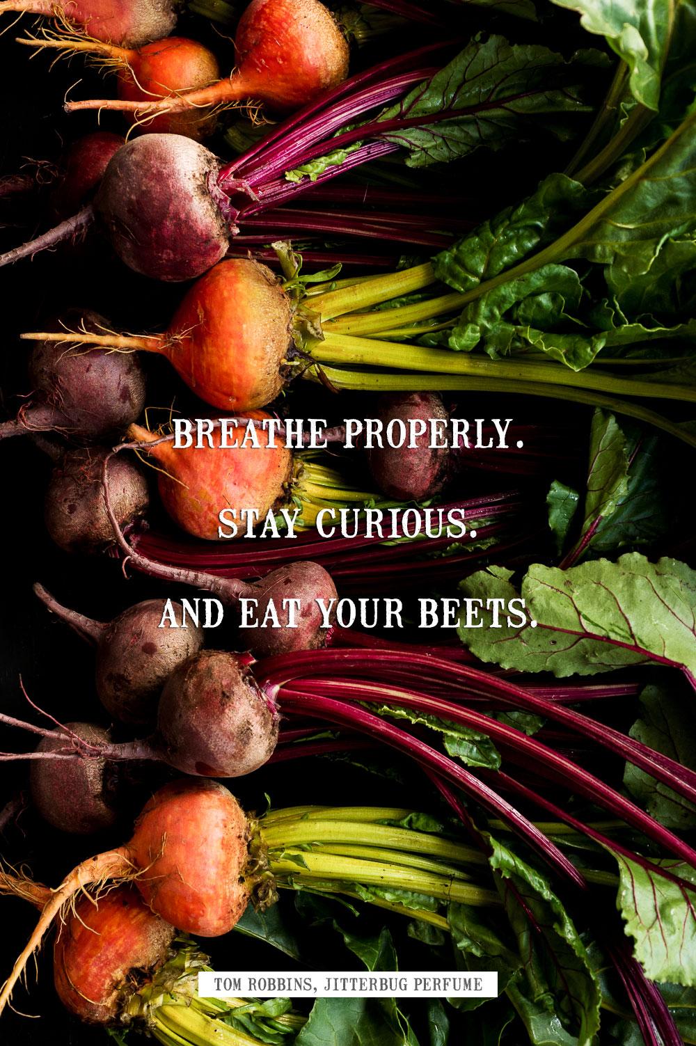 Eat Your Beets | Minimally Invasive