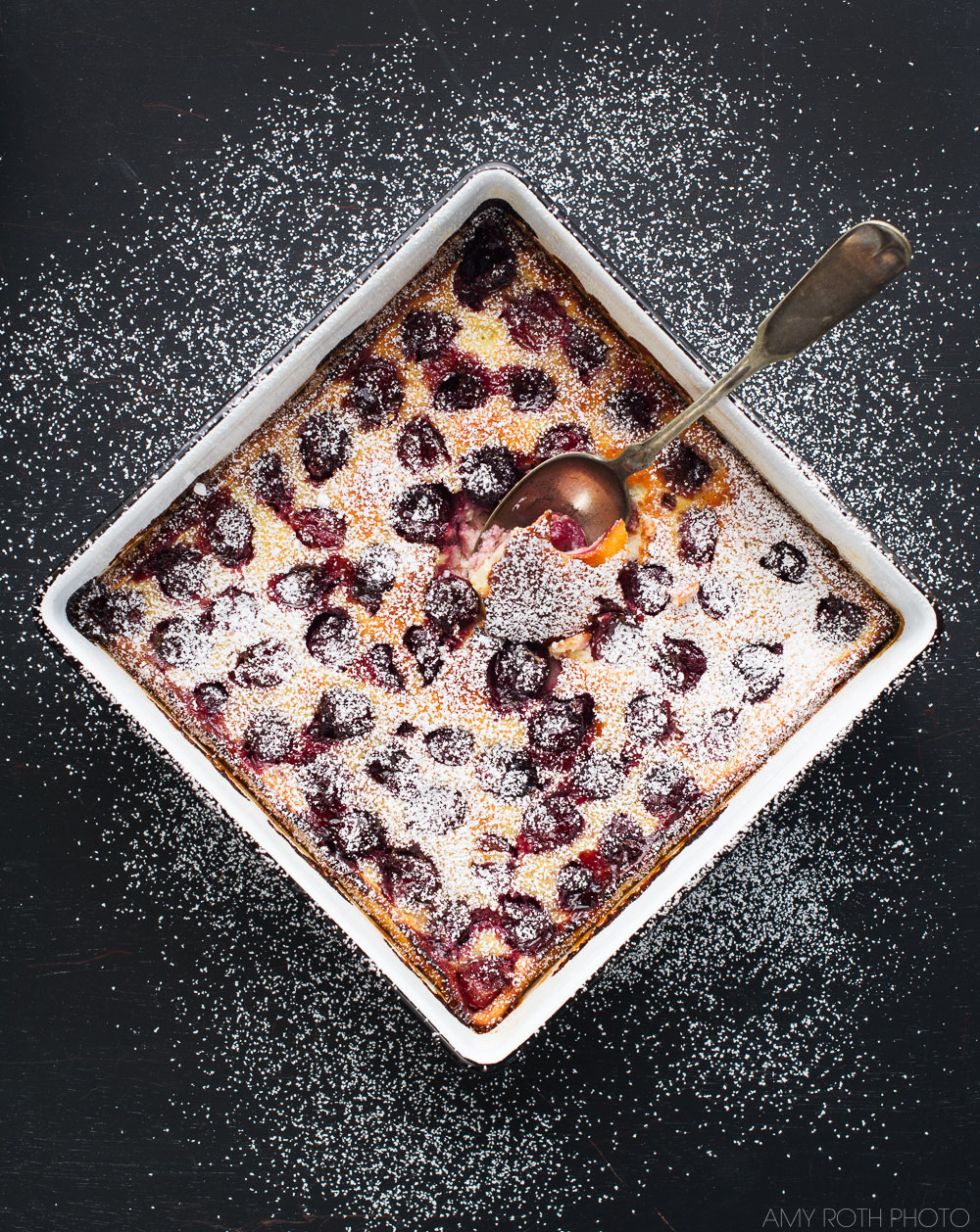 Gluten-Free Cherry Clafoutis | Minimally Invasive