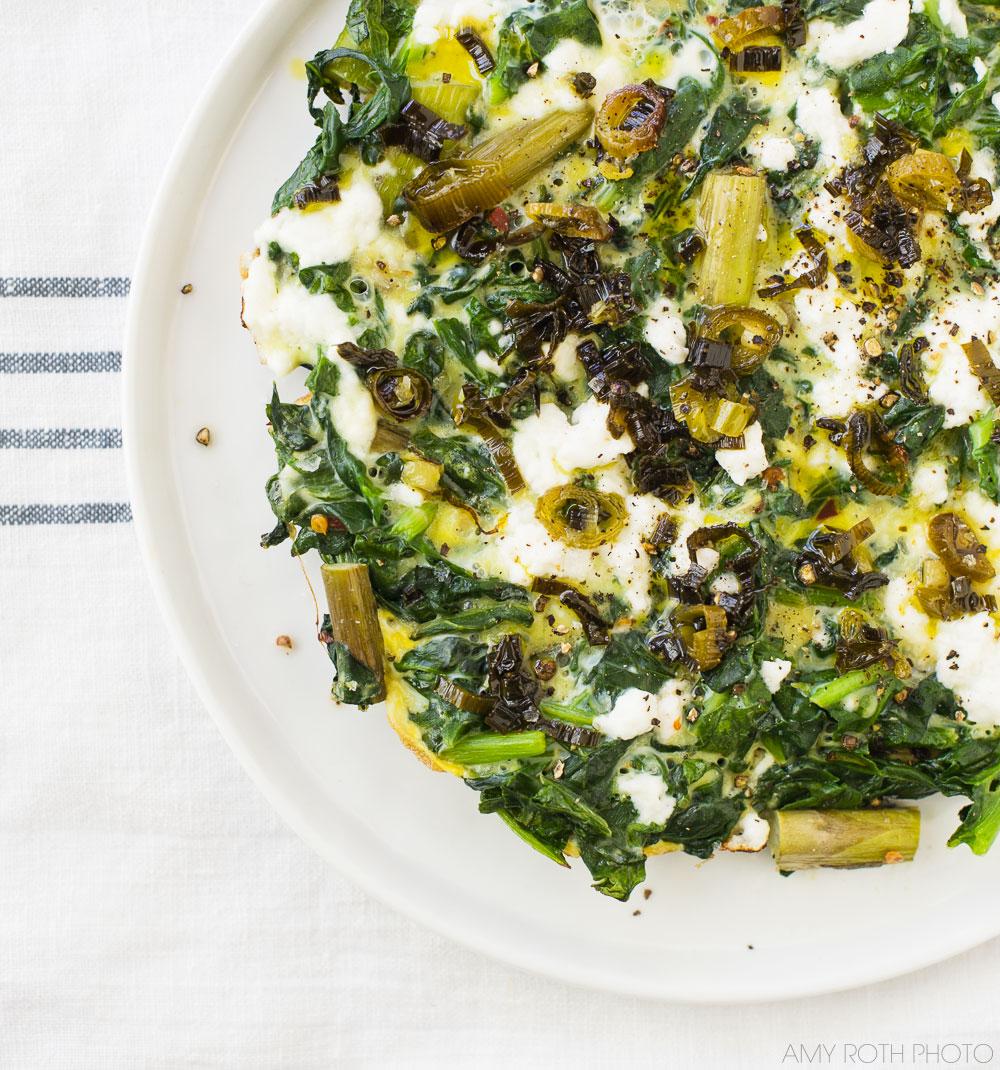 Gluten-Free Green Frittata   Minimally Invasive