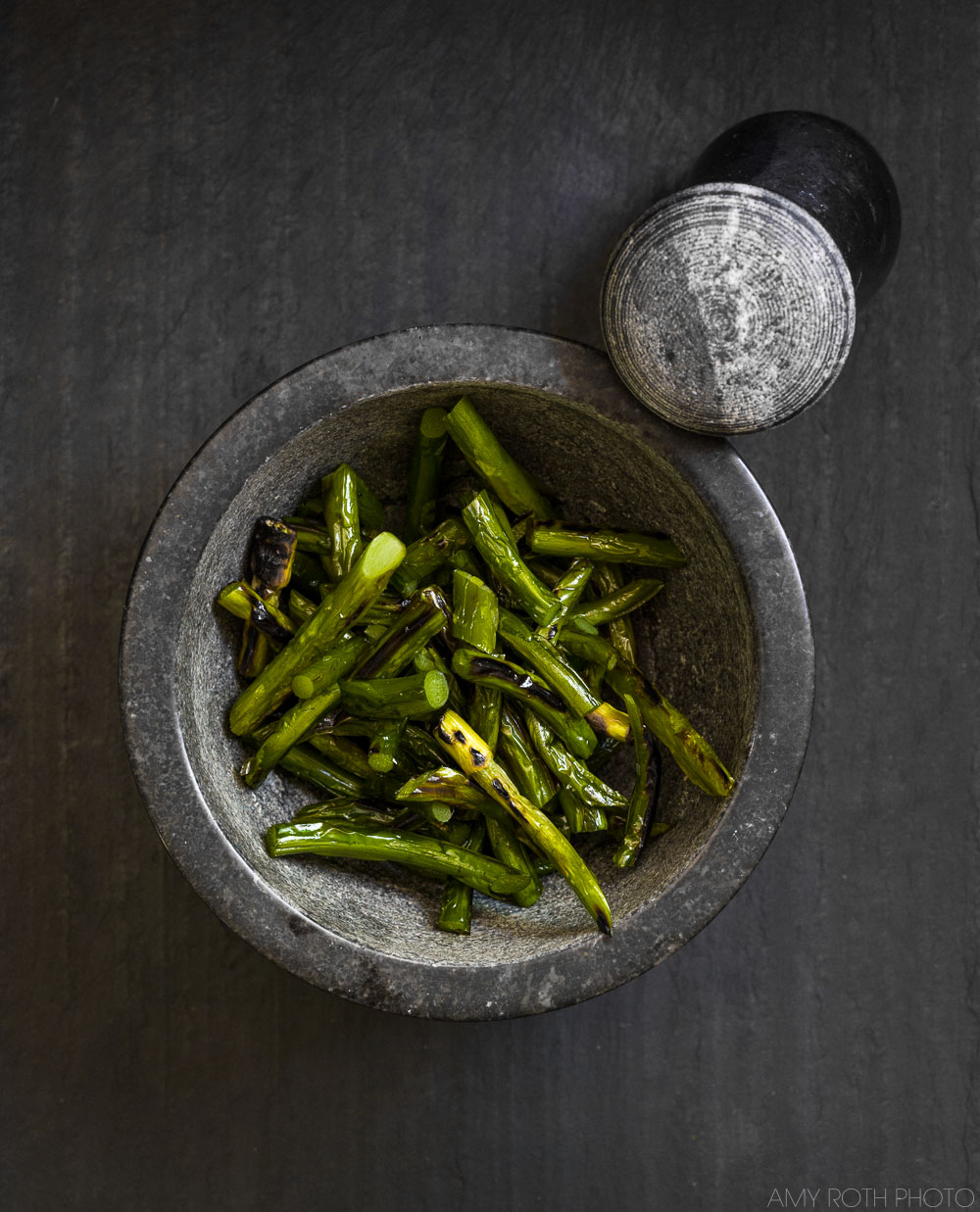 Grilled Garlic Scapes   Minimally Invasive