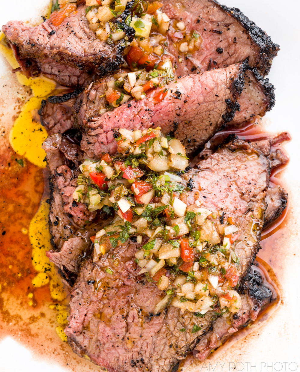 Grilled Tri Tip | Amy Roth Photo