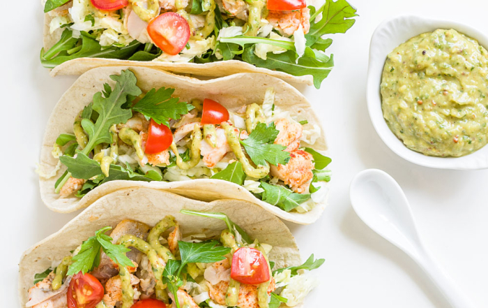 Catfish Tacos with Avocado Remoulade _ Minimally Invasive