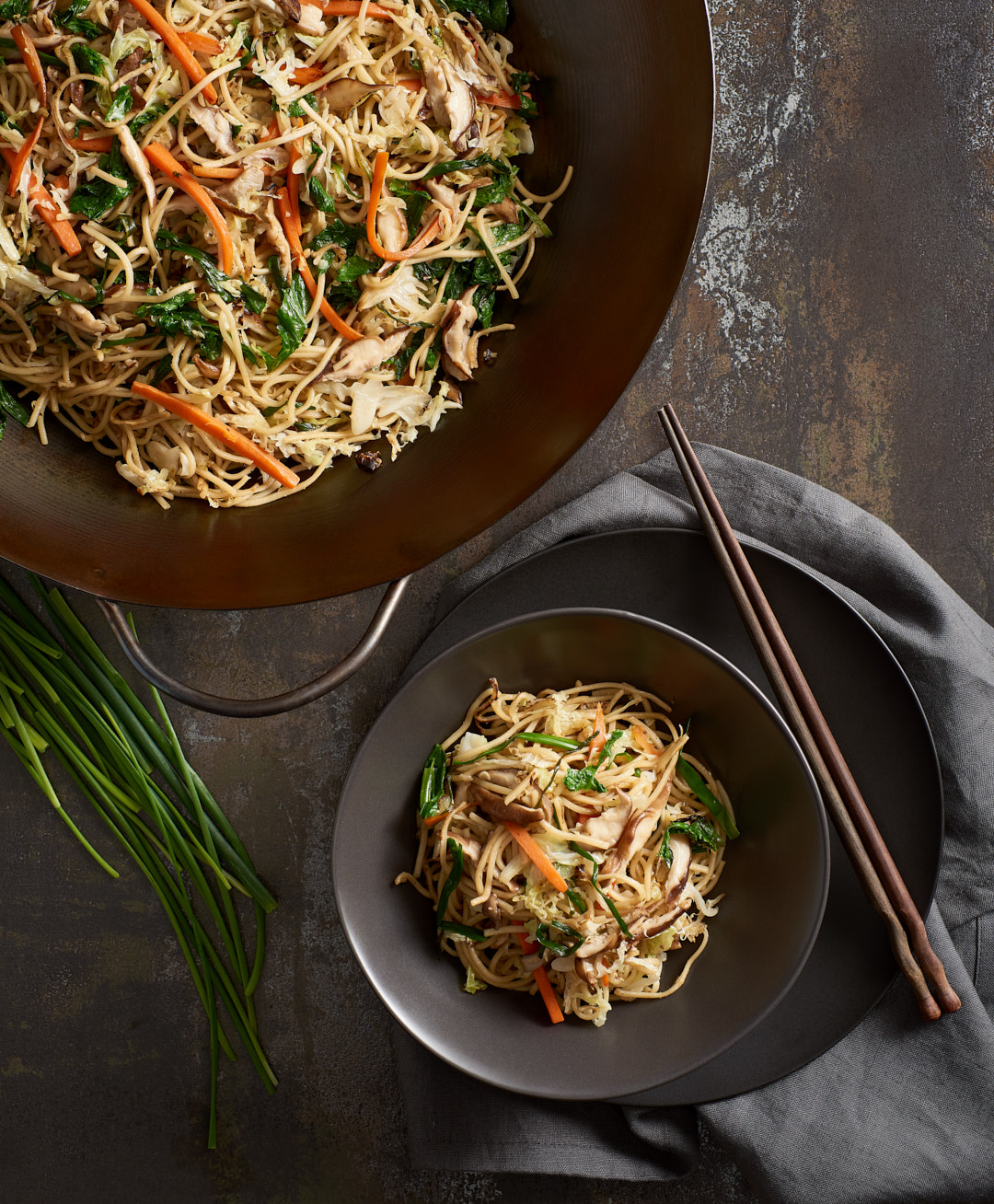 Lo Mein | Amy Roth Photo