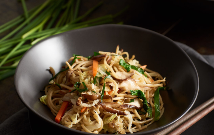 Lo Mein Noodles   Amy Roth Photo