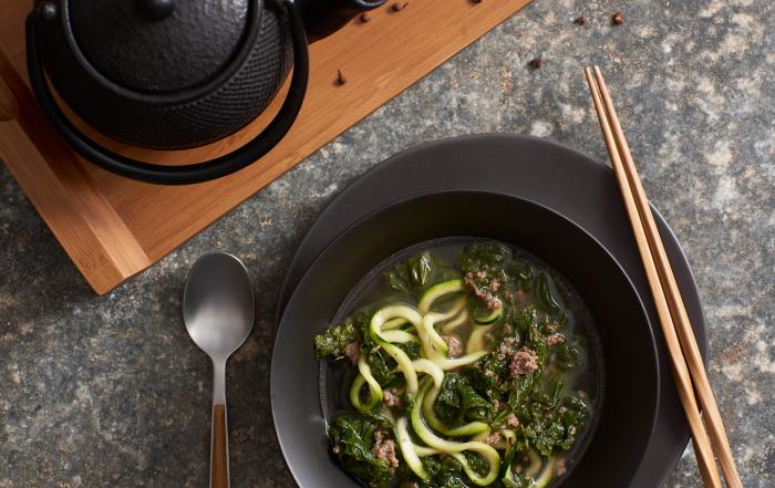 Mustard Greens Soup - Amy Roth Photo