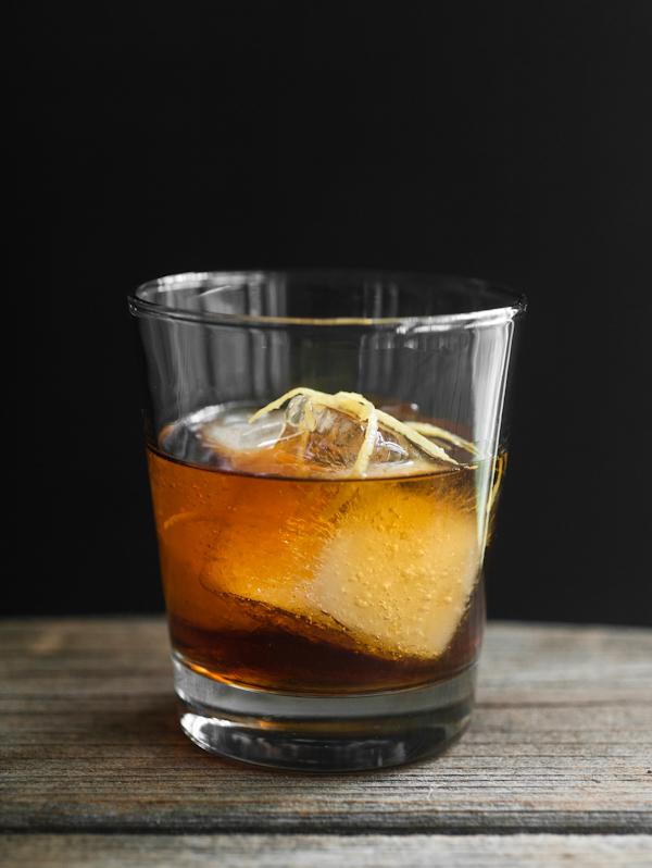 rye, cognac, St. Germain