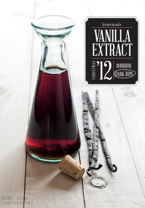 As promised, homemade vanilla extract! Once you try this yourself, you ...